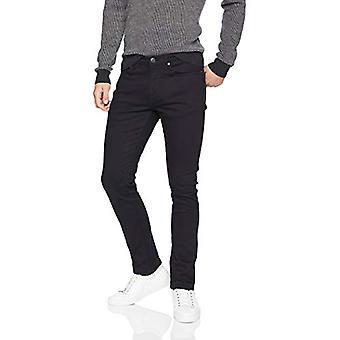 Essentials Miesten & apos;s Skinny-Fit Stretch Jean, Musta, 36W x 29L