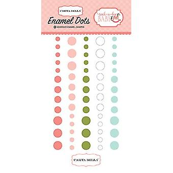 Carta Bella Rock-a-Bye Girl Émail Dots