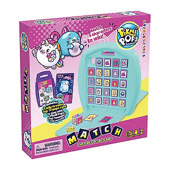 Pikmi Pops Top Trumps Match - The Crazy Cube Game