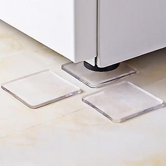 Anti Vibration Silicone Non Slip Pad Mats For Washing Machine, Refrigerator