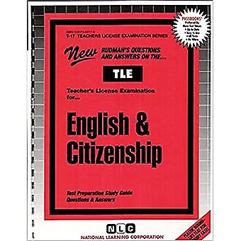 English & Citizenship (Teachers License Examination Series: T-17)
