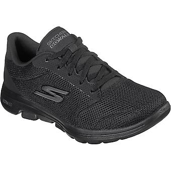 Skechers Womens Gowalk 5 Lucky ULTRA GO Lace Up Trainers