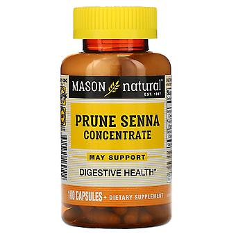 Mason Natural, Prune Senna Concentrate, 100 Capsules