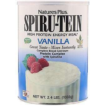Nature's Plus, Spiru-Tein, High Protein Energy Meal, Vanilla, 2.4 lbs (1088 g)
