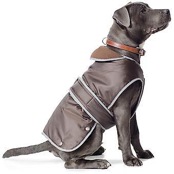 Ancol Stormguard kutya kabát - csokoládé - kicsi (10-14 hüvelyk)