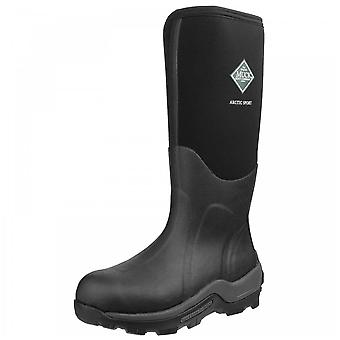 Muck Boots Black/black Arctic Sport Pull On Wellington Boot
