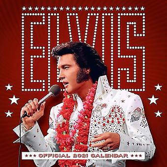 Elvis Presley Calendar 2021 Official Calendar 2021, 12 months, original English version.