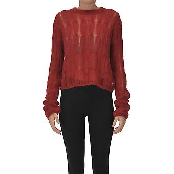 Itmfl Ezgl530007 Femme-apos;s Red Wool Sweater