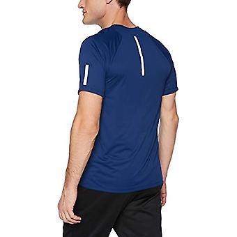 Peak Velocity Men's Channel-Knit Performance Short Sleeve Quick-dry Athletic-...