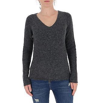 Fabiana Filippi Mad220w087d1908148 Women's Grey Wool Sweater