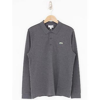 Lacoste Long Sleeve Polo - Dark Grey