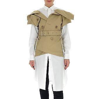 Junya Watanabe Je00100511 Chemise en coton blanc Femmes