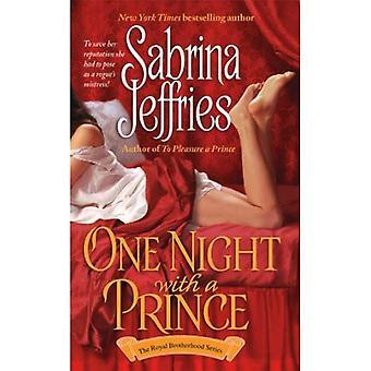 One Night with a Prince (The Royal Brotherhood Series)