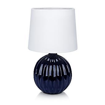 Markslojd MELANIE - 1 vaalea sisäpöytälamppu sininen, E14