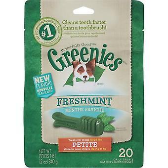 Greenies Petite MINT Treat Pack 340gm