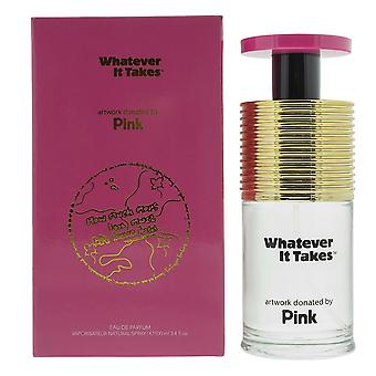 Whatever It Takes Pink Eau de Parfum 100ml Spray For Her