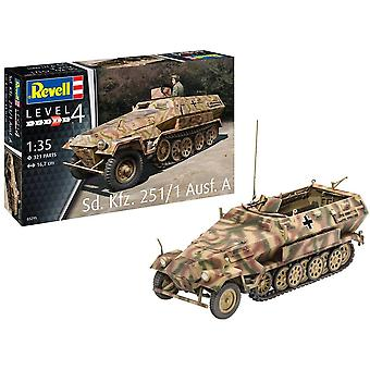 Revell 3295 Sd.Kfz. 251/1 Ausf.A Armoured Vehicle Model Kit
