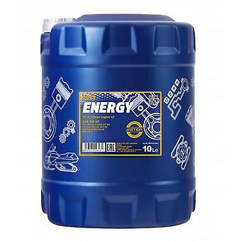 Mannol 10L Energy 5w30 Huile de moteur entièrement synthétique SL/CF Acea A3/B3 WSS-M2C913-B