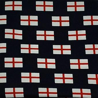 Ties Planeta St George's Cross England Flag Novelty Pocket Square Handkeref