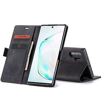 CaseMe Samsung Galaxy Note 20 Wallet Retro (ZWART)