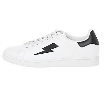 Neil Barrett Thunderbolt Tennis Low Sneakers