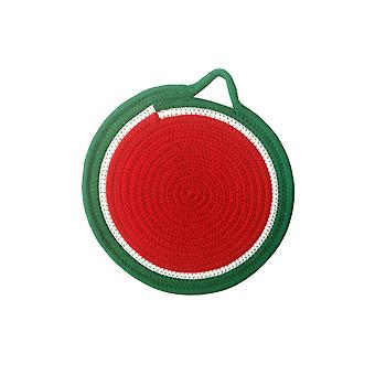 Homemiyn 4 Pieces Of Hanging Heat Insulation Placemat-fruit