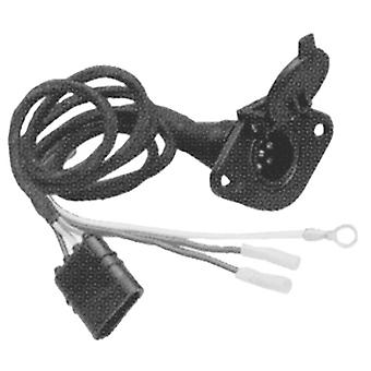 Hopkins 47155 6-Wire Rd Trailer Conn.(Plastic)