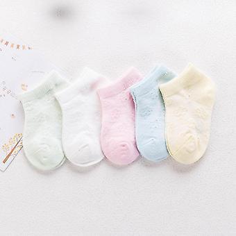 Comfortable Breathable Mesh Cotton Soft Socks For Kids Girl Baby