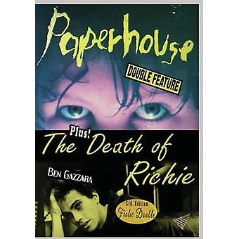 Paperhouse / Death Of Richie [DVD] USA import