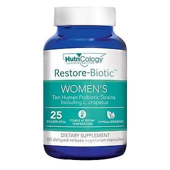 Nutricology/ Allergy Research Group Restore-Biotic Women's, 60 Veg Caps