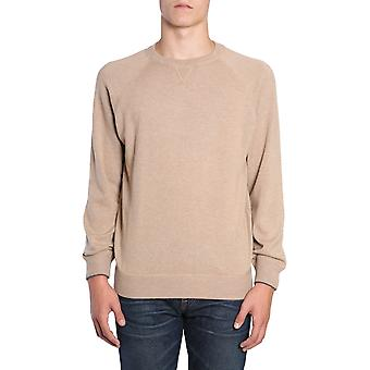 Brunello Cucinelli M2209218cd672 Hombres's Suéter de cachemira beige