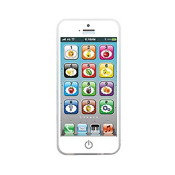 Children's Simulation Learning Touch Screen Toy Phone With Led Light