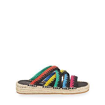 Donald J Pliner Womens Rhonda Open Toe Casual Slide Sandals