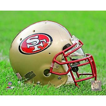 San Francisco 49ers Helmet Photo Print
