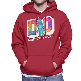 Trolls Do What They Wont Men's Hooded Sweatshirt