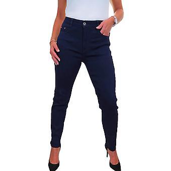 icecoolfashion Jeans de mezclilla elásticos de pierna delgada para mujer