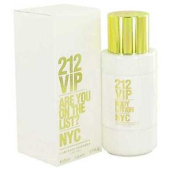 212 VIP by Carolina Herrera Body Lotion 6,7 oz (naiset) V728-490519