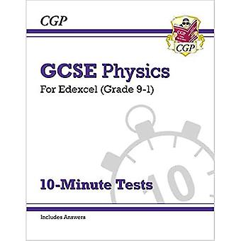 New Grade 9-1 GCSE Physics: Edexcel 10-Minute Tests (with answers)