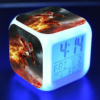 Colorful Multifunctional LED Children's Alarm Clock -The Flash Season 4 #2