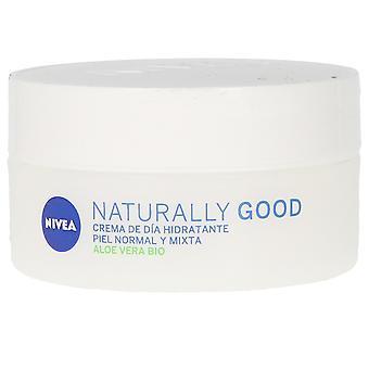 Nivea Naturalmente buona Crema Hidratante Día 50 Ml Per le donne
