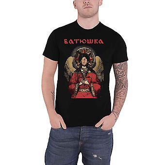 Batushka T Shirt Premudrost Μπάντα Λογότυπο νέα Επίσημη Mens Μαύρο