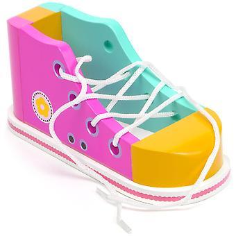 Cool Kicks Pink Lacing Shoe