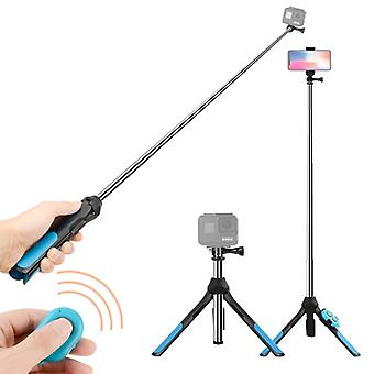 Bluetooth-kaukosäädin Integroitu jalusta Selfie Stick GoPro HERO9 Musta / HERO8 Musta /7 /6 /5 /5 Istunto /4 Istunto /4 /3+ /3 /2 /1, DJI Osmo A
