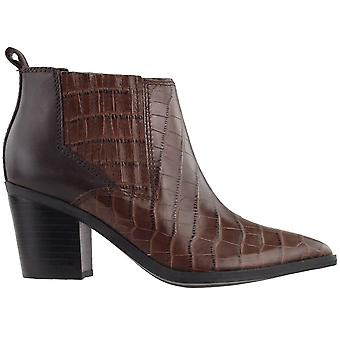 Marc Fisher Women's Shoes Rental2 Leather Pointed Toe Ankle Fashion Boots