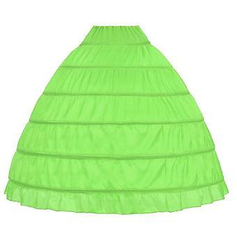 الدانتيل حافة هوب Petticoat تحت تنورة للكرة ثوب الزفاف فستان قطر