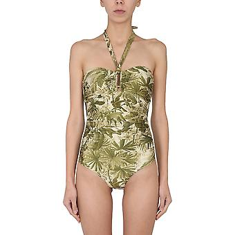 Zimmermann 0171wbrgkhpl Women's Green Nylon One-piece Suit