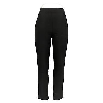 Joan Rivers Women's Pants Regular Signature Grosgrain Trim Black A366910