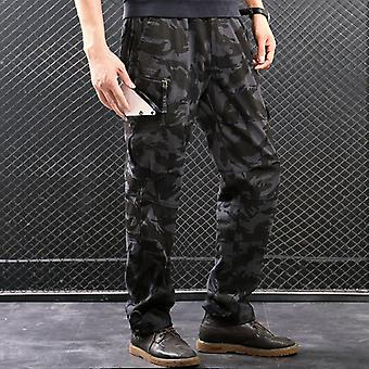 Men Cargo Pants, Multi Pockets, Military Tactical Men Outwear, Streetwear Army