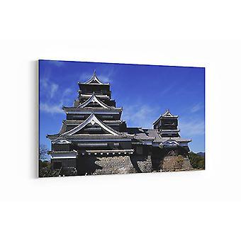 Malerei - japanische Architektur - 90x60cm