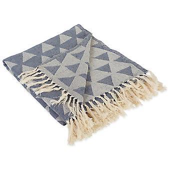 Dii Dreieck werfen Französisch blaue Decke